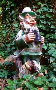KF Weber als Gartenzwerg 25-9-2018