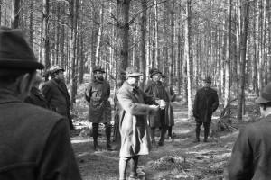 Waldbau-Exkursion vor 50 J s-w 3-3-2019 c