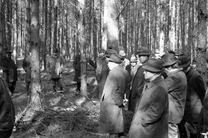 Waldbau-Exkursion vor 50 J s-w 3-3-2019 d