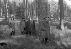 Waldbau-Exkursion vor 50 J s-w 3-3-2019 f